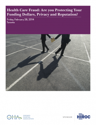 E1 254 Fraud Conference - Brochure Cover