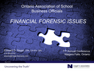 OASBA Annual Conference_May 2014_Cover