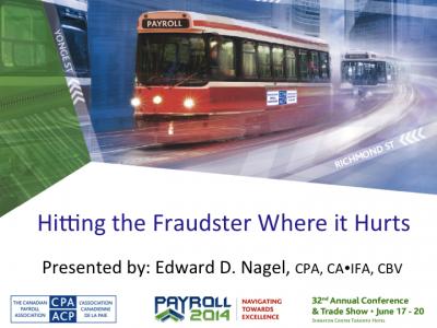 Hitting the Fraudster where it Hurts_Cover Slide